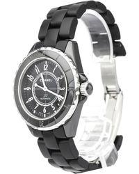 Chanel - Ceramic J12 Men's Wristwatch 39mm - Lyst