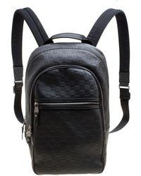 abcc0a514588 Lyst - Louis Vuitton 2016 Monogram Macassar Josh Backpack Brown in ...