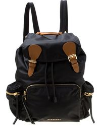 Burberry The Rucksack Black Synthetic
