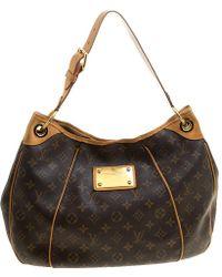 e4c784966602 Louis Vuitton - Monogram Canvas Galliera Shoulder Bag Pm - Lyst