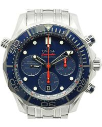 Omega - Stainless Steel Seamaster Diver Men's Wristwatch 44mm - Lyst