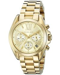 Michael Kors - Champagne Gold Plated Steel Bradshaw Mk5798 Women's Wristwatch 35mm - Lyst