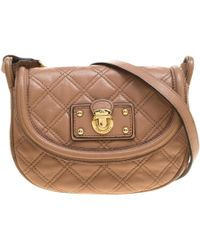 Marc Jacobs - Quilted Leather Mini Cooper Crossbody Bag - Lyst