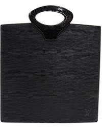 Louis Vuitton - Noir Epi Leather Ombre Bag - Lyst