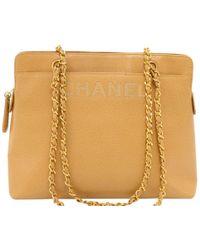 Chanel - Caviar Leather Shoulder Bag - Lyst