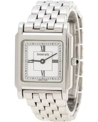 Tiffany & Co. - White Stainless Steel Classic Women's Wristwatch 23 Mm - Lyst