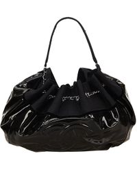 Chanel - Vinyl Stretch Spirit Cabas Bag - Lyst