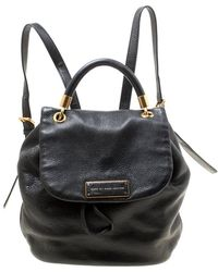 Marc By Marc Jacobs - Black Leather Too Hot To Handle Backpack - Lyst