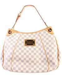 Louis Vuitton - Monogram Galliera Damier Azur Pm Tote Bag - Lyst