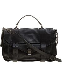 Proenza Schouler - Leather Large Ps1 Top Handle Bag - Lyst