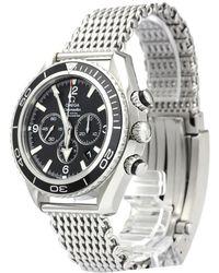 Omega - Stainless Steel Seamaster Planet Ocean Men's Wristwatch 45mm - Lyst