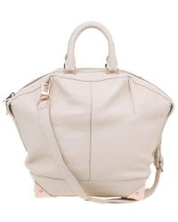 Alexander Wang - Beige Leather Large Emile Tote - Lyst