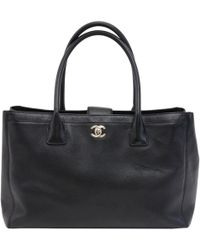 Chanel - Caviar Cerf Shopping Tote - Lyst