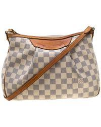 Louis Vuitton - Damier Azur Canvas Siracusa Pm Bag - Lyst