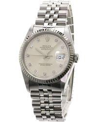 Rolex - Stainless Steel Datejust Men's Wristwatch 36mm - Lyst
