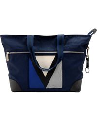 326c528cb Louis Vuitton - Blue Rubber Coated Canvas 2007 Lv Cup Tote - Lyst