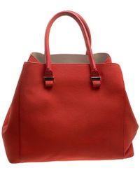 Victoria Beckham - Leather Liberty Tote - Lyst