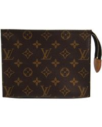 Louis Vuitton - Monogram Canvas Toiletry Pouch 19 - Lyst