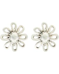 Tiffany & Co. - Paloma Picasso Sterling Silver Daisy Stud Earrings - Lyst