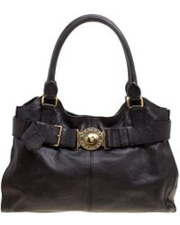 Burberry - Leather Lambeth Tote - Lyst