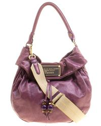 Marc By Marc Jacobs - Leather New Q Lil Drawstring Hobo - Lyst
