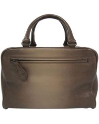 e223ff3d0c Lyst - Bottega Veneta Leather Shopping Tote in Natural