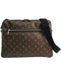 f3e0a311141 Louis Vuitton - Monogram Macassar Canvas Torres Messenger Bag - Lyst