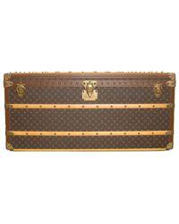 Louis Vuitton - Monogram Canvas Malle Courrier Lozine 110 Double Wardrobe Trunk - Lyst