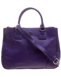 Tory Burch - Leather Robinson Tote - Lyst