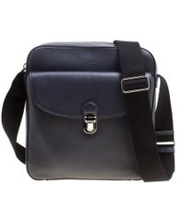 Tod's - Leather Reporter Messenger Bag - Lyst