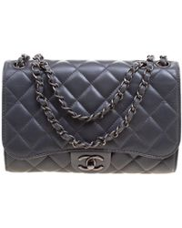 Chanel - Quilted Leather Classic Drawstring Flap Shoulder Bag - Lyst