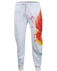Etro - Grey Printed Jogger Trousers L - Lyst