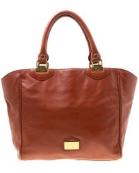 1d2b75014204 Marc By Marc Jacobs - Brown Leather House Of Hayley Tote - Lyst