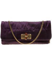Lanvin - Satin Happy Chain Shoulder Bag - Lyst