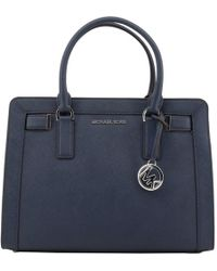 Michael Kors - Saffiano Leather Medium Dillon Top Zip Tote - Lyst