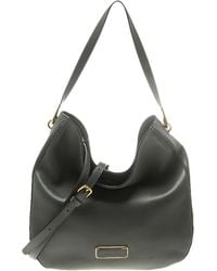 Marc By Marc Jacobs - Grey Leather Ligero Hobo - Lyst
