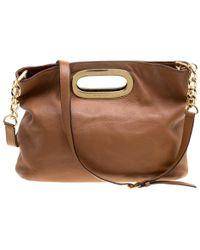 Michael Kors - Leather Berkley Shoulder Bag - Lyst