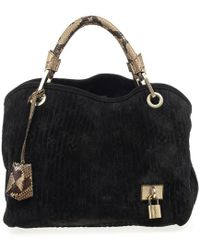 Louis Vuitton - Monogram Embossed Suede Limited Edition Whisper Pm - Lyst