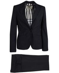 Burberry - London Wool Pant Suit S - Lyst