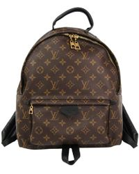Louis Vuitton - Monogram Canvas Palm Springs Backpack Mm - Lyst