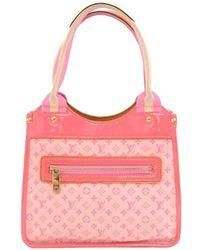 Louis Vuitton - Rose Monogram Mini Lin Sac Kathleen Bag - Lyst