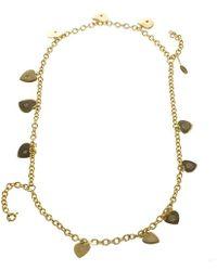 Just Cavalli - Roberto Cavalli Heart Multichain Tone Necklace - Lyst