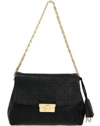Dior - Cannage Quilted Leather Chain Shoulder Bag - Lyst