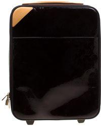 f0b447c4c388 Louis Vuitton - Amarante Monogram Vernis Pegase 45 Suitcase - Lyst