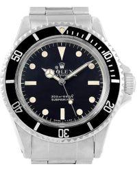 Rolex - Stainless Steel Vintage Submariner Men's Wristwatch 40mm - Lyst