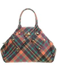 Vivienne Westwood - Coated Canvas Derby Satchel - Lyst