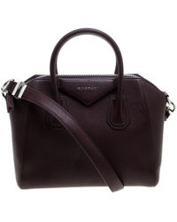 Givenchy - Leather Small Antigona Satchel - Lyst