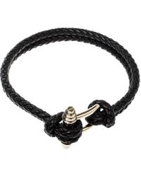 Givenchy - Obsedia Braided Leather Gold Tone Choker Necklace - Lyst