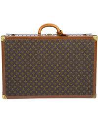 Louis Vuitton - Monogram Canvas Bisten 70 Hardsided Suitcase - Lyst