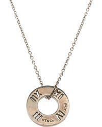 Tiffany & Co. - Atlas Pierced Pendant Necklace - Lyst